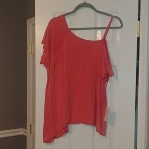 NWT Free People COLD shoulder top.